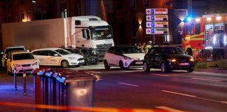 Германия, камион, инцидент