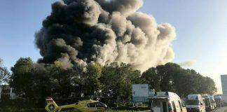 експлозия, Линц