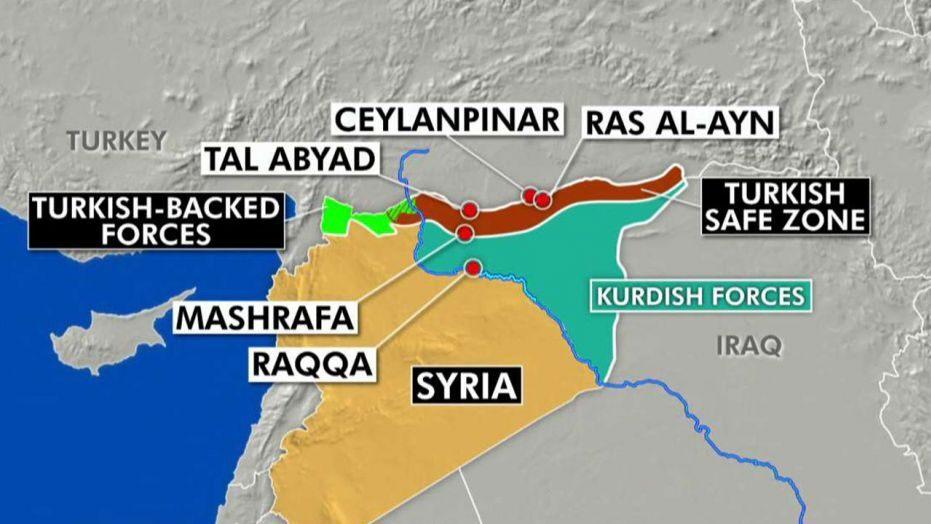 Сирия, Русия, Турция, САЩ, кюрди