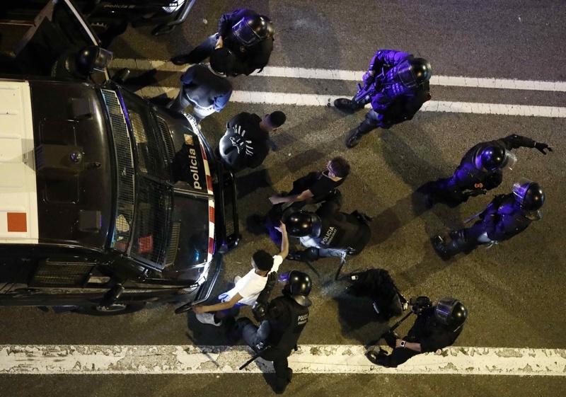 Каталуния, протести