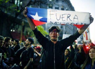 Чили, протести
