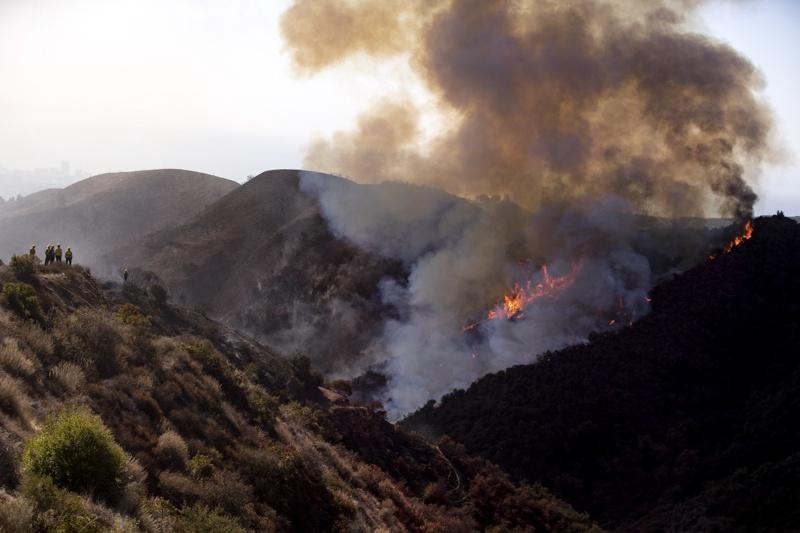 Калифорния, пожари