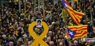 Барселона, протест
