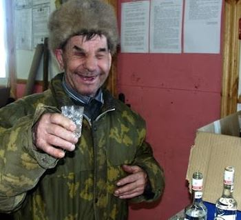 Русия, алкохолици
