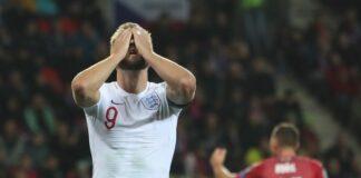 Англия, загуба