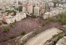 Чили, протест