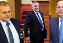 Искрен Веселинов, Валери Симеонов, Александър Симов