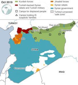 кюрди, Сирия