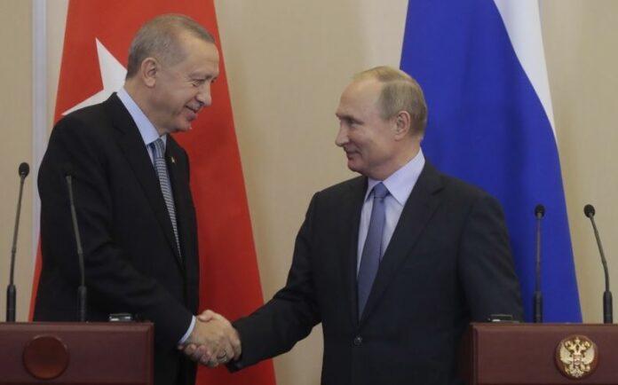 Путин, Ердоган, кюрди