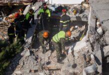 Албания, земетресение