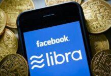 криптовалути, лебра, Фейсбук