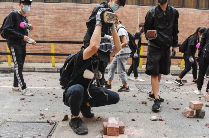Хонгконг, сблъсъци