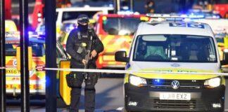 Лондон, полиция
