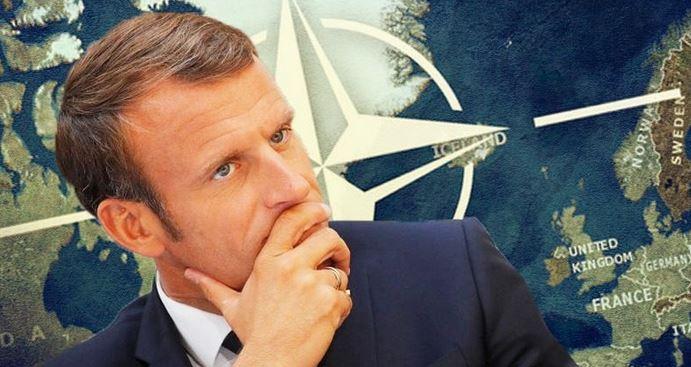 Макрон, Меркел, НАТО