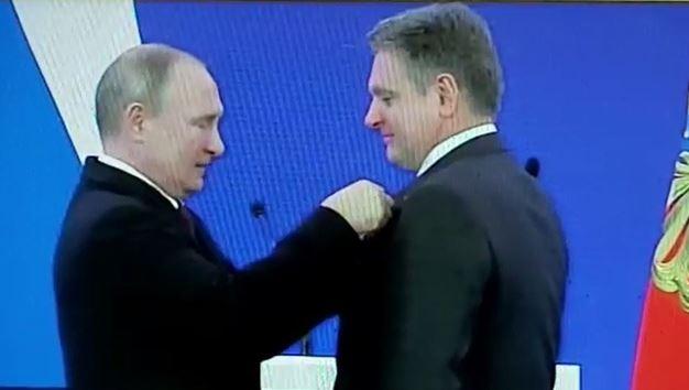 Малинов, Путин