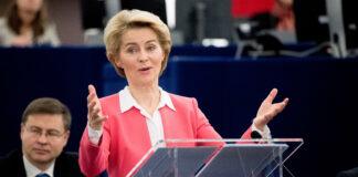 Урсула фон дер Лайен, гласуване