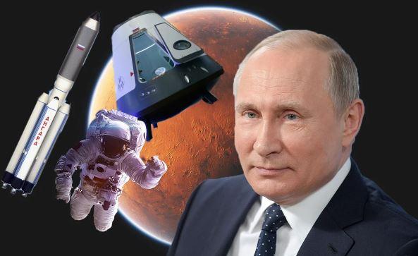 Путин, космодрум, кражби