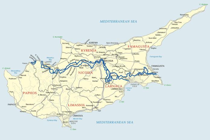 буферна зона, Кипър