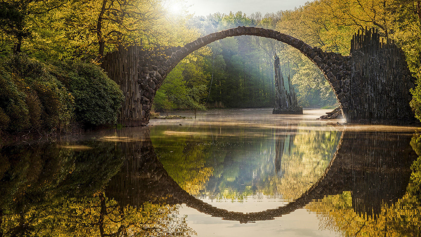 Мостът на Дявола, Германия