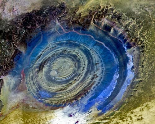 Структура Ришат, Мавритания