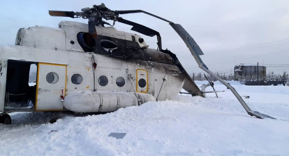 хеликоптер, Красноярск