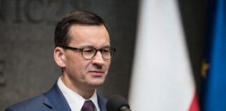 на снимката: Матеуш Моравецки - премиер на Полша