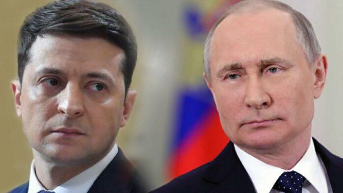 Володимир Зеленски, Владимир Путин