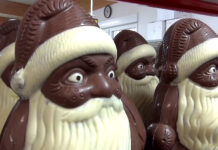 Шоколадов Дядо Коледа