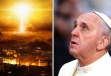 край на света, Франциск, папа
