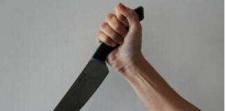 жена, нож, убийство