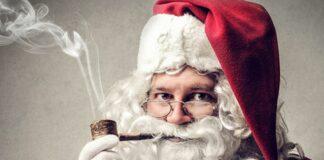 Дядо Коледа, тютюн