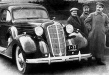 ЗИС, Сталин, лимузина