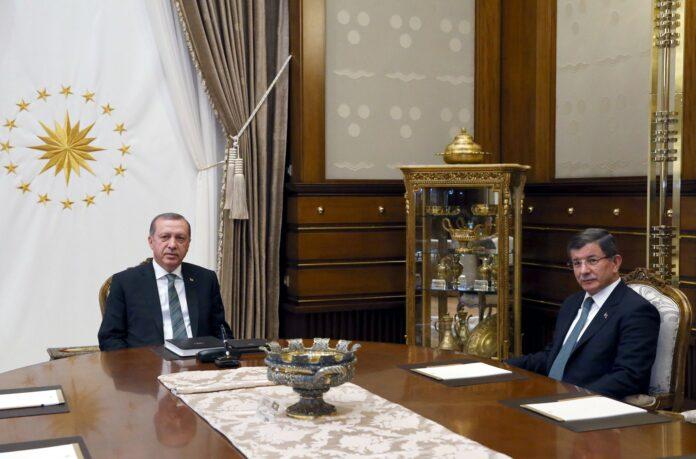 Ердоган, Давутоглу