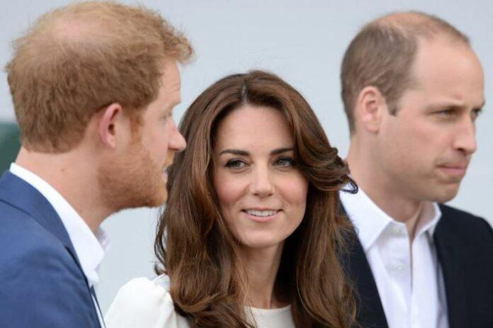 принц Хари, Кейт Мидълтън