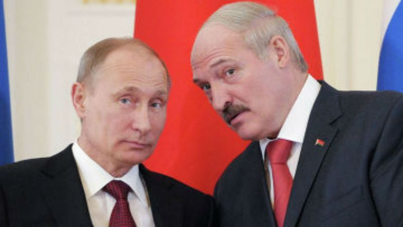 Владимир Путин и Александър Лукашенко