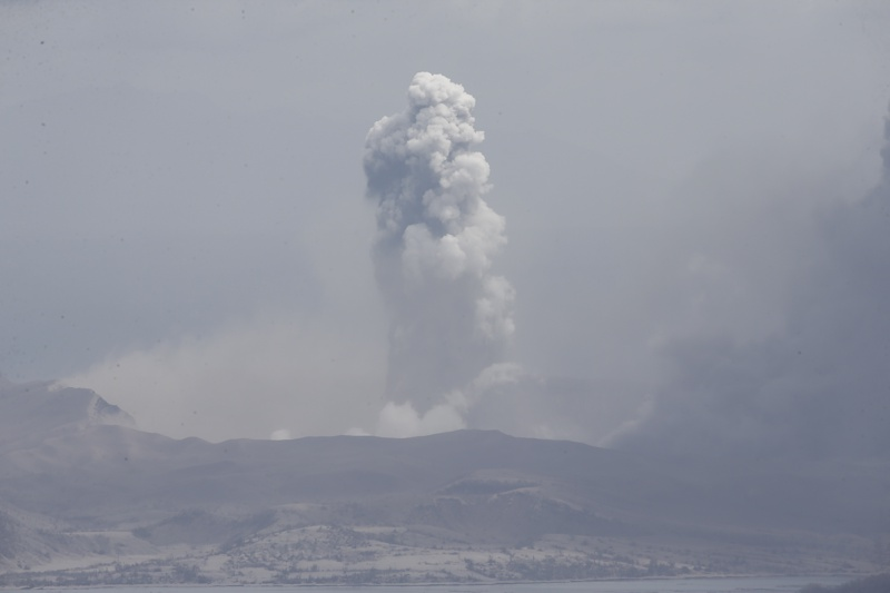 Манила, вулкан