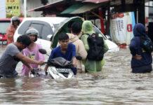 наводнение, Джакарта