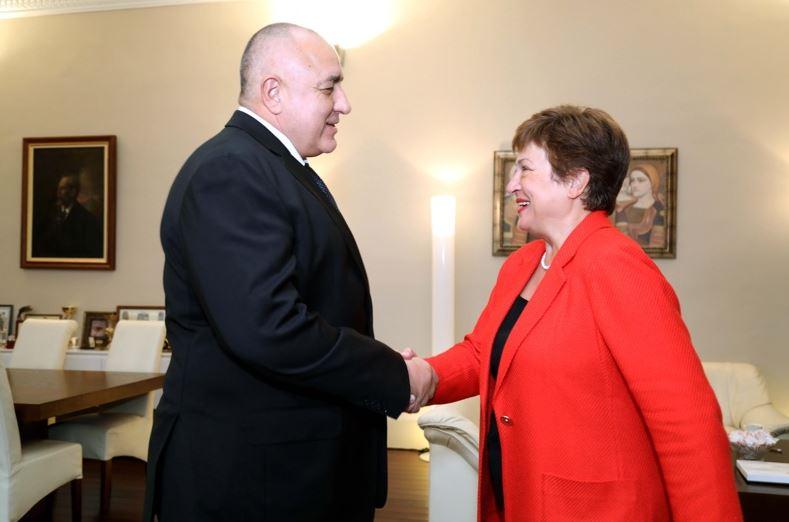 Бойко Борлисов, Кристалина Георгиева, МВФ