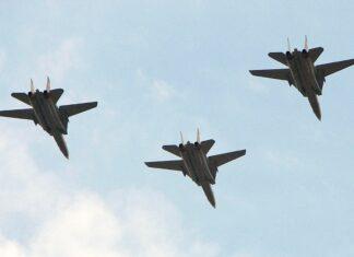 Иран, самолети, учения