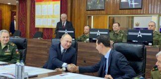 Путин, Асад