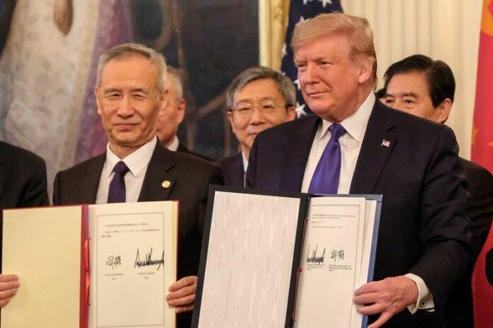 Тръмп, Хе, споразумение