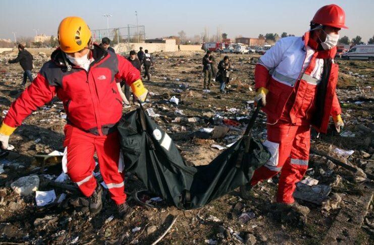 Украински самолет, катастрофа, Техеран, жертви