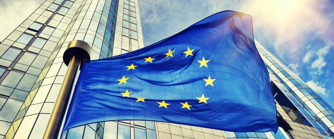 европа, знаме