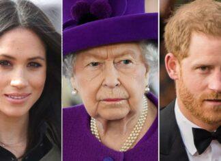 Меган Маркъл, кралица Елизабет II, принц Хари