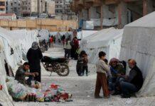 Турция, граница, бежанци
