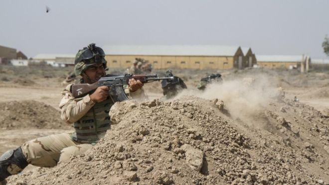 Ирак, удар, американска база
