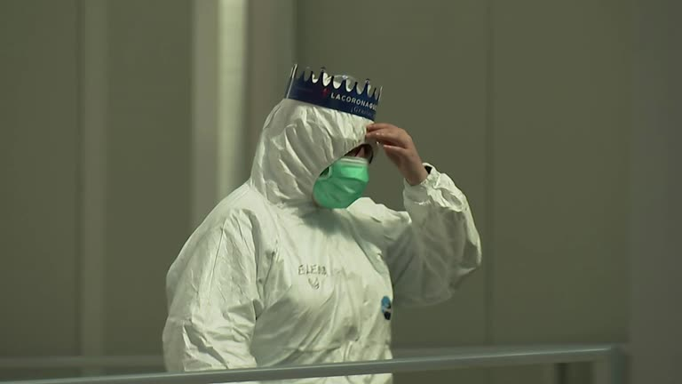 Испания, коронавирус