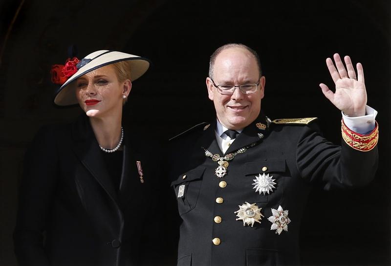 принца на Монако Алберт II