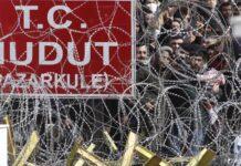 Гърция, граница, бежанци, Турция