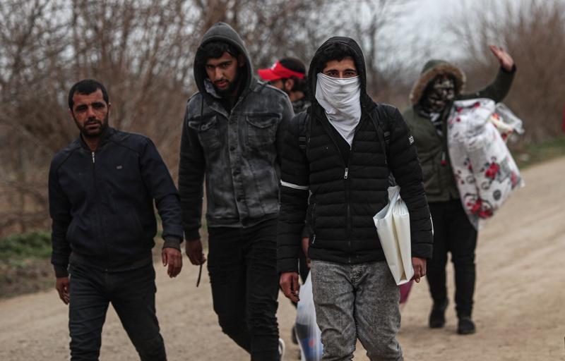мигранти, граница,Гърция, Турция